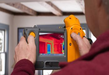 Thermal camera used for energy assessments in Decatur, IL by Assured Insulation Solutions, LLC.