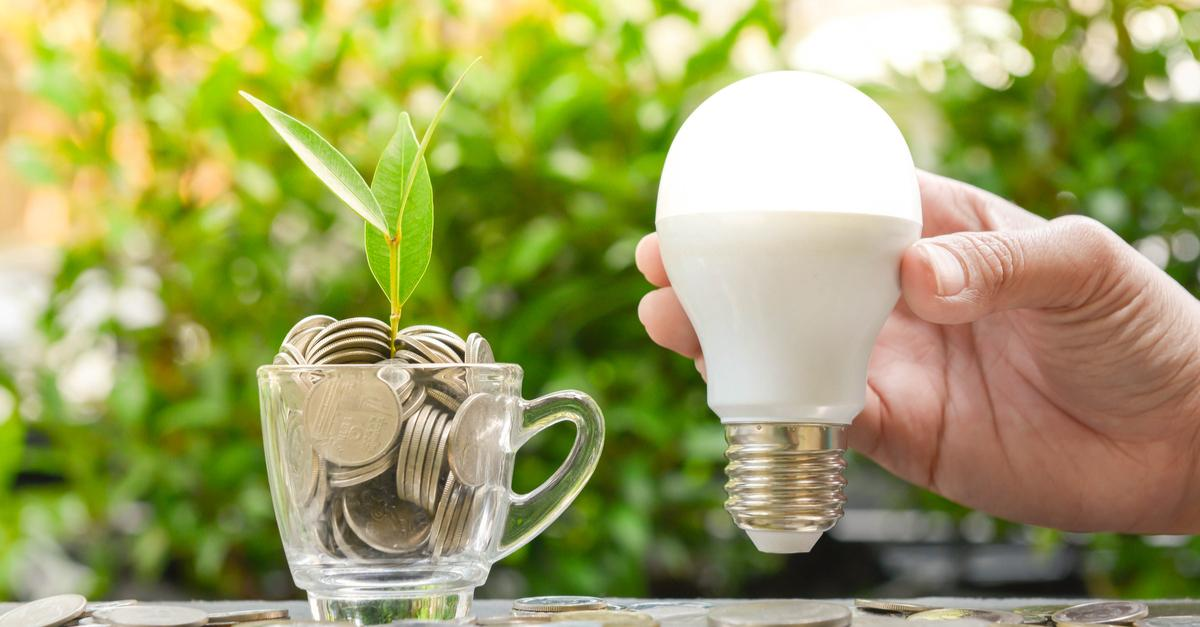 Saving money by installing free LEDs in Decatur Illinois!