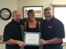 air sealing award with clearesult