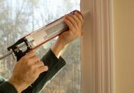 Caulking gun used to plug up gaps and cracks in your home envelope so your conditioned air stays where it belongs, inside the home.
