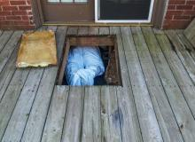 crawl space encapsulation, basement insulation, insulation, assured insulation, il, in
