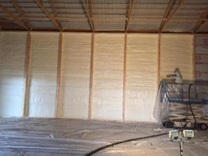Pole barn insulation service performed by Assured Insulation Solutions LLC