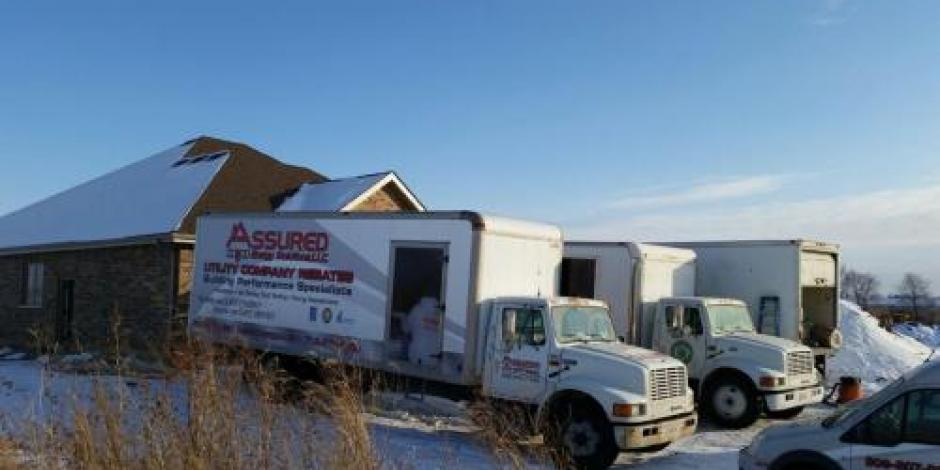 Trucks of Assured Insulation Solutions LLC in Frankfort, IL