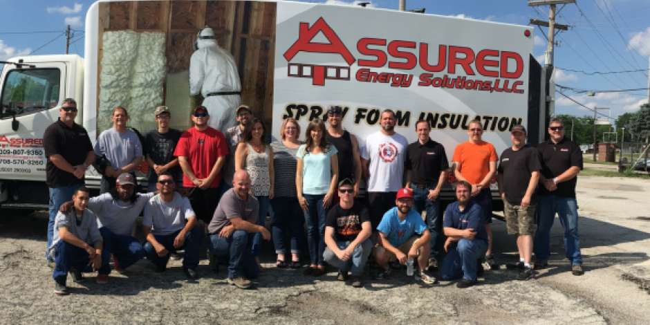 Members of the team at Assured Insulation Solutions LLC in Decatur, IL